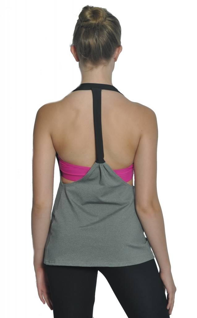 BP Designs BP Designs Adult Eclon T Back Drape Top 74317