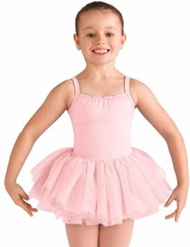 89ea5ca9b Girls Skirted Dance Leotards - Black and Pink Dance Supplies