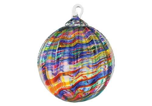 Classic  Rainbow Kaleidoscope Ornament