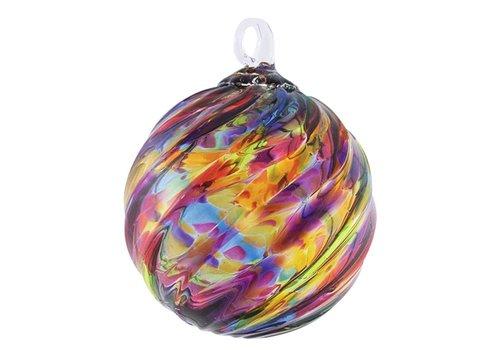 Rainbow Twist Ornament