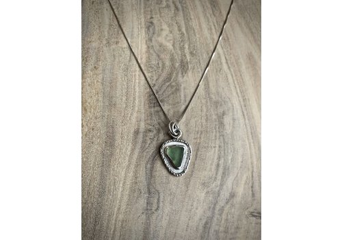Maine Single Sea Glass Necklace