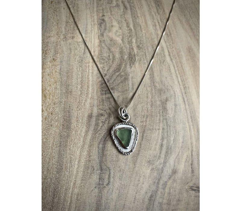 Maine Single Sea Glass Necklace