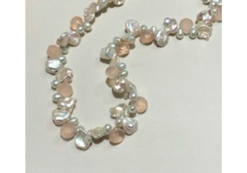Signature Pearl with Chalcedony Brios Necklace