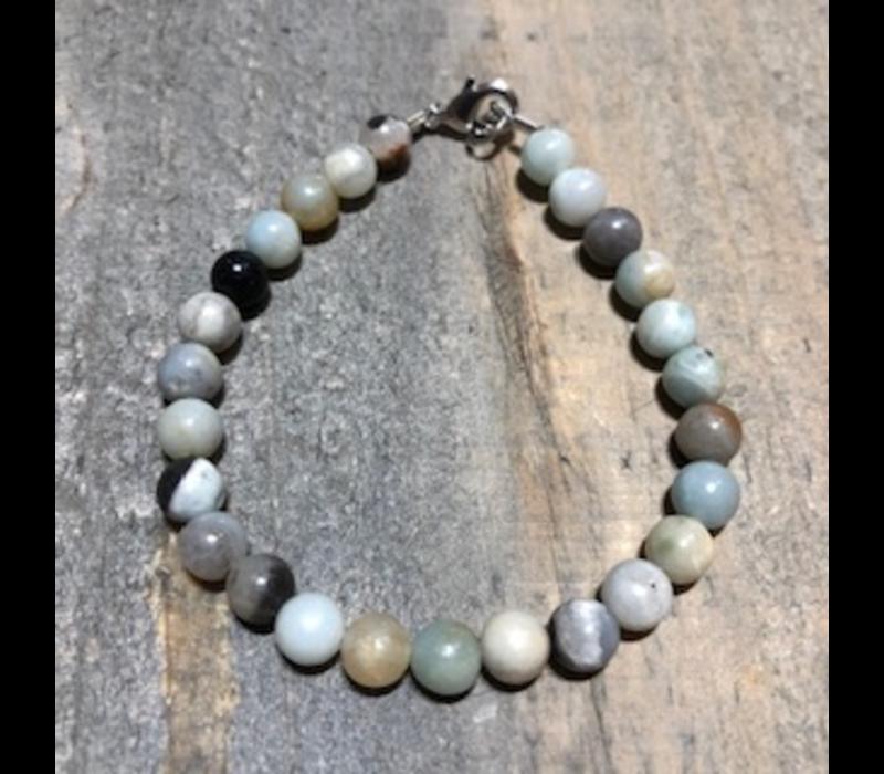 Amazonite Round Bracelet