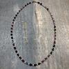 Teardrop Multi Tourmaline & Seed Pearl Necklace