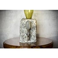 Stainless Steel Cobble Beverage Dispenser-Gray