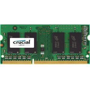 Crucial 2GB DDR3-1066 SODIMM Memory for Mac