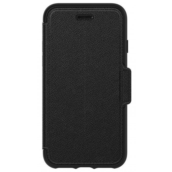 Strada Folio for iPhone 7/8 (Black)