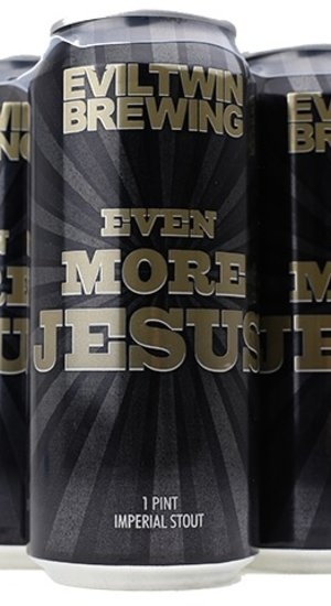 Evil Twin Brewing Even More Jesus Imperial Stout