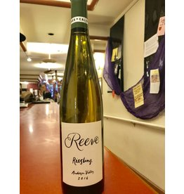 Natural Reeve Riesling Anderson Valley 16