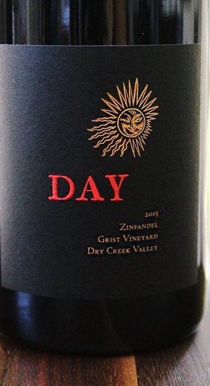 Organic Day Zinfandel Grist Vineyard 16