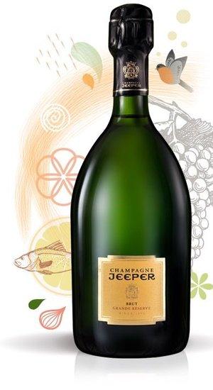 Jeeper Grand Reserve Brut Champagne NV