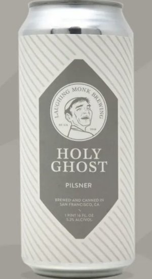 Laghing Monk Brewing Holy Grail Pilsner