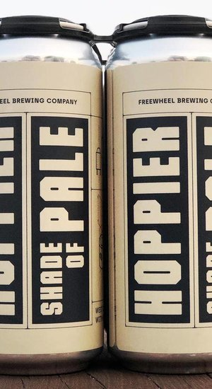 Freewheel Brewing Hoppier Shade of Pale