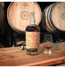 Wright & Brown Cask Strength Rye Whiskey