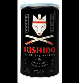Bushido Way of the Warrioir Junmai Genshu Sake 180ml