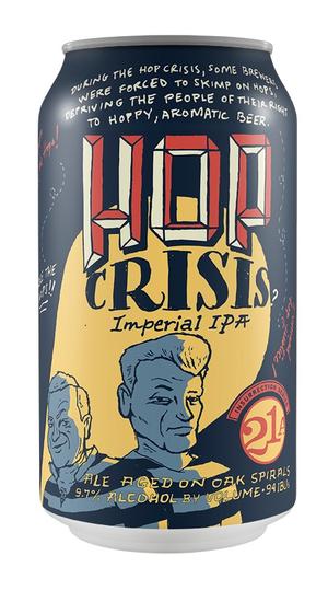 21st Ammendment Hop Crisis Imperial IPA