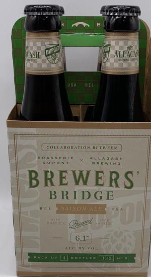 Brasserie Dupont-Allagash Brewers' Bridge