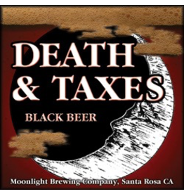 Moonlight Brewing Death & Taxes Black Beer