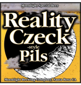 Moonlight Brewing Reality Czeck Pilsner