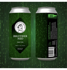 Laughing Monk Brother Neo Hazy IPA