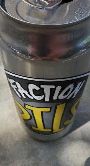 Faction Pils 16 oz. cans 4pk