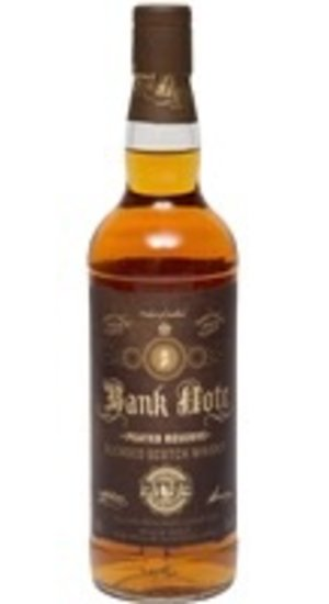 Bank Note Peated Reserve Blended Scotch