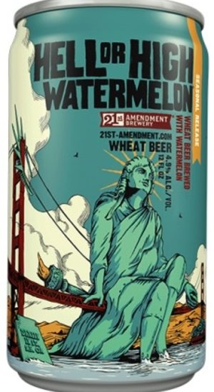 21st Amendment Hell or High Watermelon