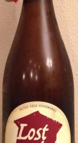 Organic Tilted Shed Lost Orchard Dry Cider