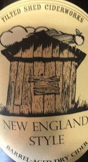 Organic Tilted Shed New England Style Barrel-Aged Cider