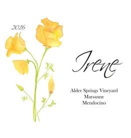 Natural Irene Marsanne Alder Springs Vineyard 16