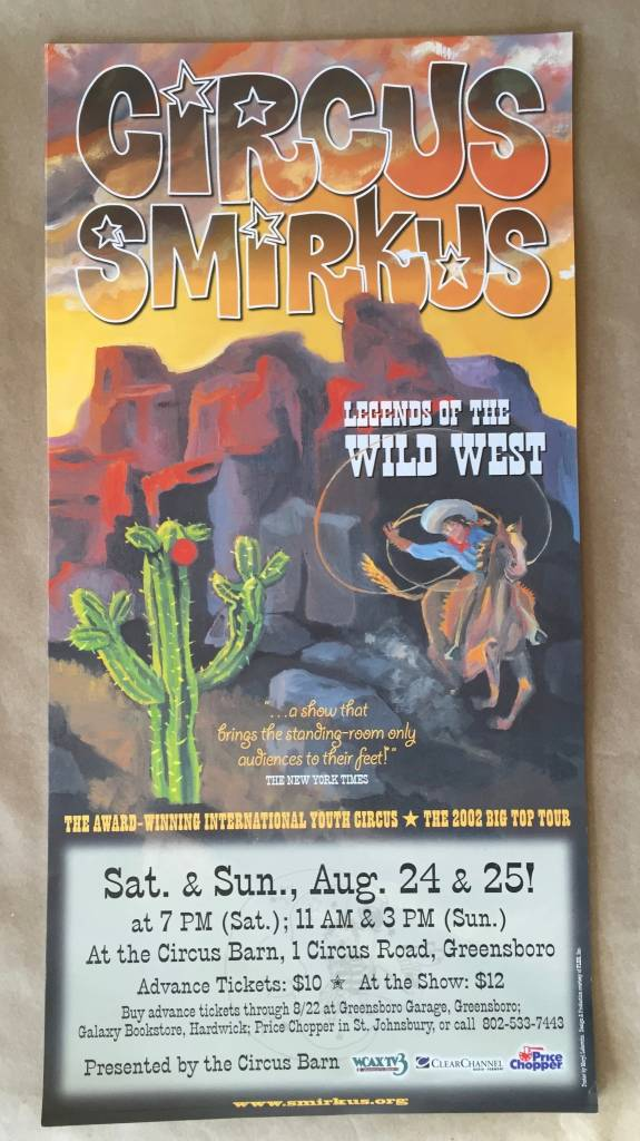 2002 Tour Poster - Legends of the Wild West