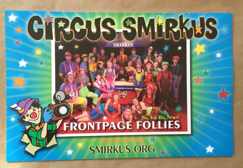 2011 Tour Cast Photo - Front Page Follies