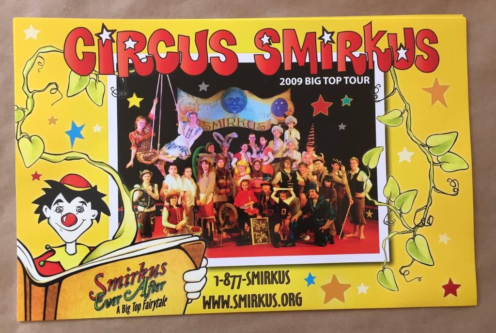 2009 Tour Cast Photo - Smirkus Ever After