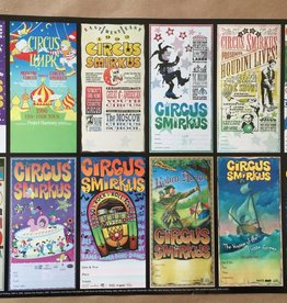 1989 thru 2001 Tour Posters Combo