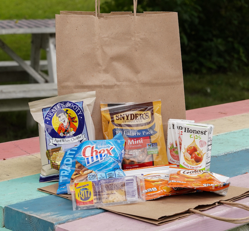 Salty Snack Attack Care Package