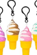 Squishy Ice Cream Cone Keychain