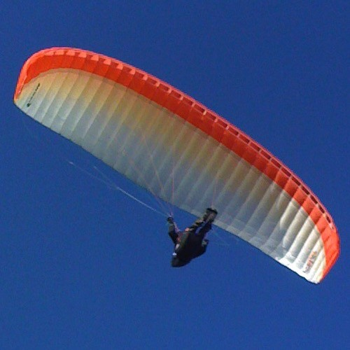 Airwave Gecko Wing - EN-B - 24 - Small (60-85K kg) - 2007 (Red) - Used