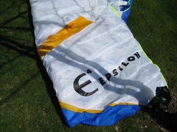 Advance Advance Epsilon 4 - DHV 1/2 - 26m (70-90 kg) - 2002 (Yellow/Purple)  - Used