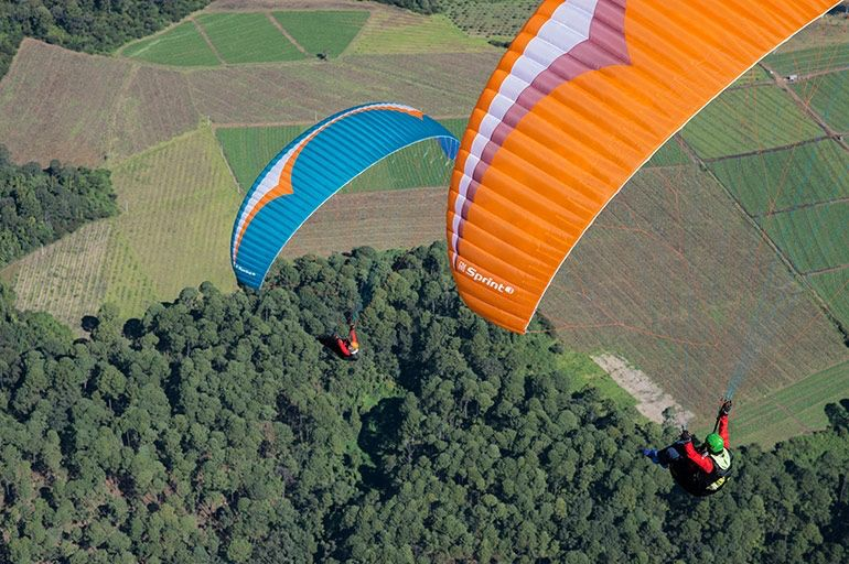 GIN GIN SPRINT 3 - Intermediate class paraglider