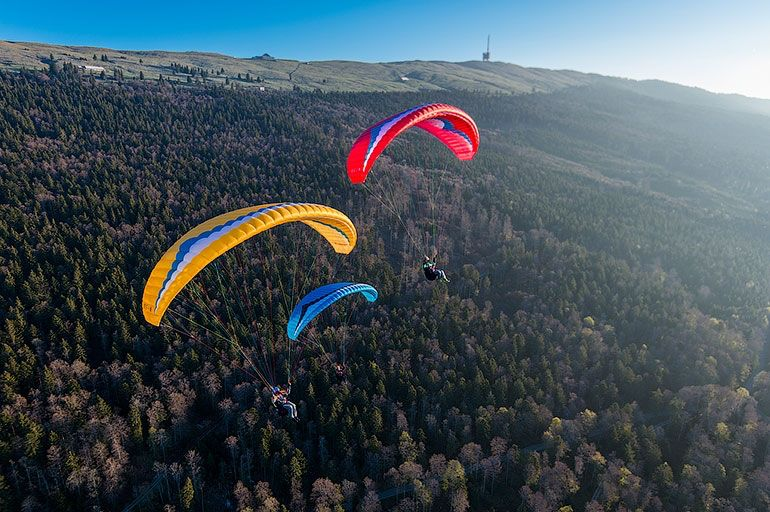 GIN GIN BOLERO 6 - Entry level paraglider