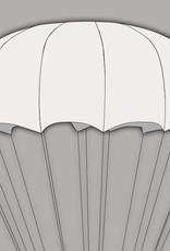 Sup'air Sup'air SHINE - A round Pull-Down Apex parachute