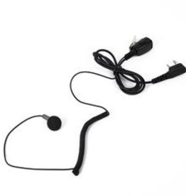Earpiece Mic With Finger PTT (K Plug) for Baofeng / Kenwood Radios