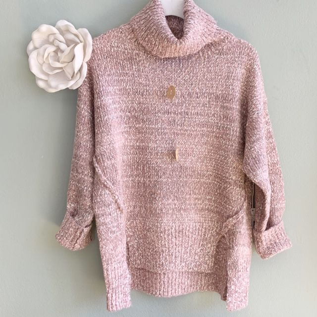 Cameron T-Neck Sweater