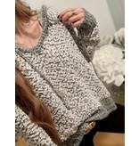 Cotton Ball Hoodie Sweater