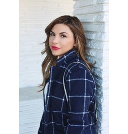 Hartford Plaid Coat