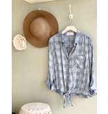 Rose & Sage Porter Denim Top