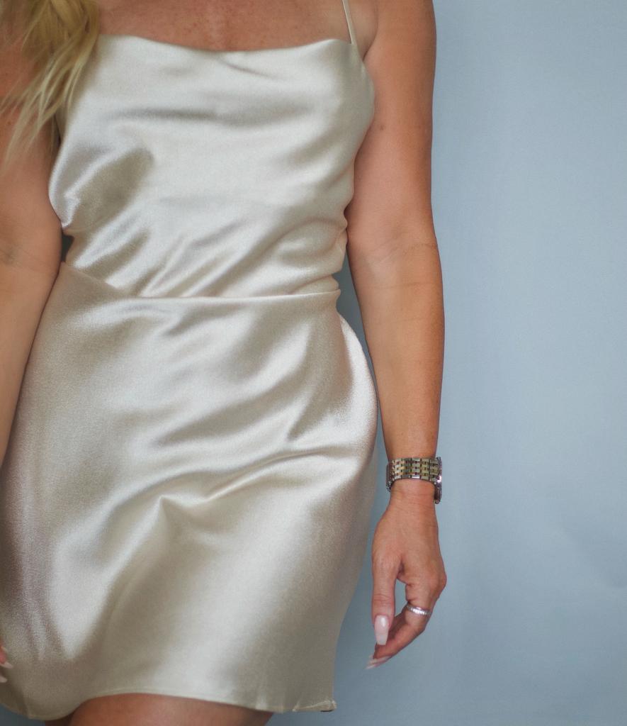Dessert Silk Dress
