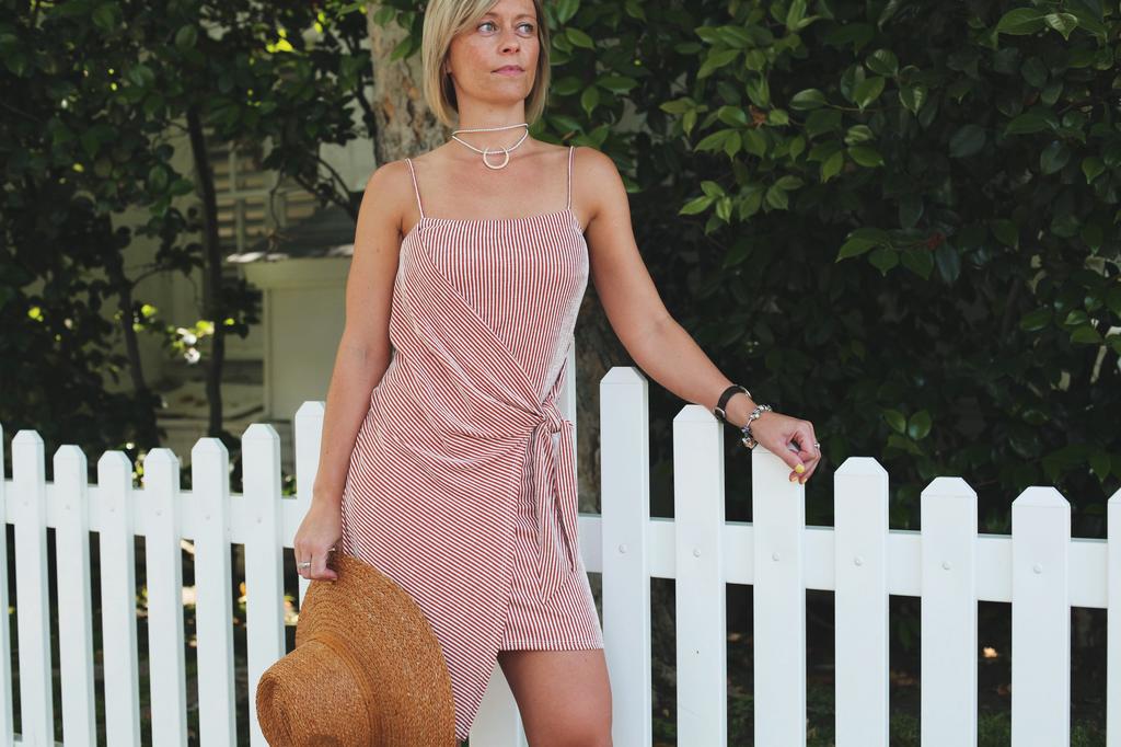 Noraa Wrap Dress