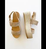 Mina Wedge Sandal